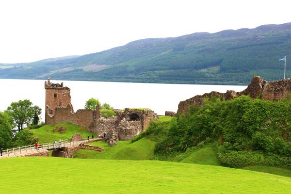 Escocia con niños Castillo-Urquhart