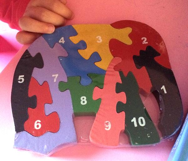 juguetes para los viajes  puzzle