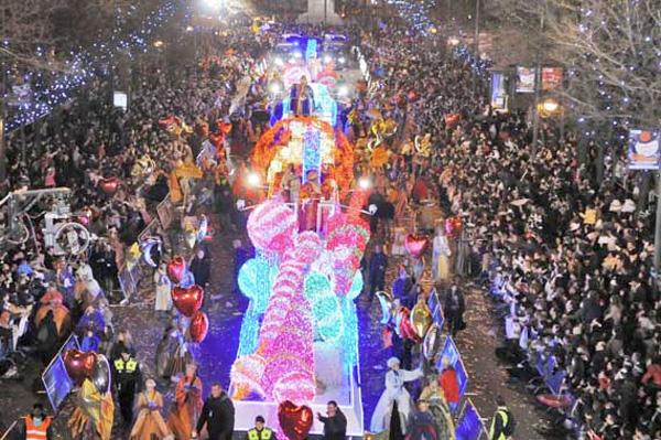 cabalgata-Madrid navidad con niños