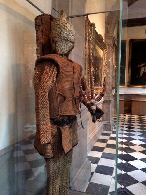viajar a Glasgow con niños, museo kelvingrove armadura