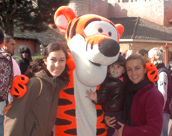 disneyland paris con Tiger