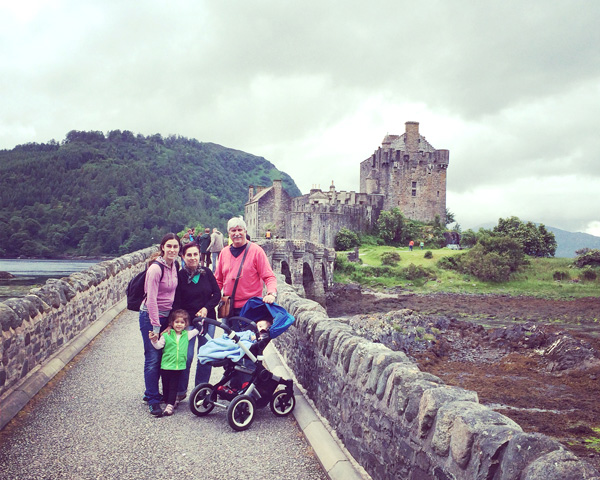 Escocia con niños