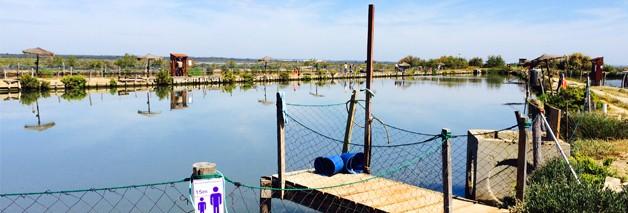 Las Salinas del Astur en Punta Umbría