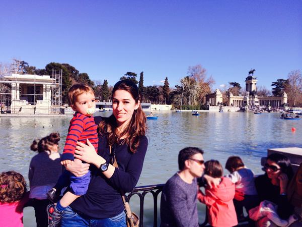 Madrid-retiro con niños