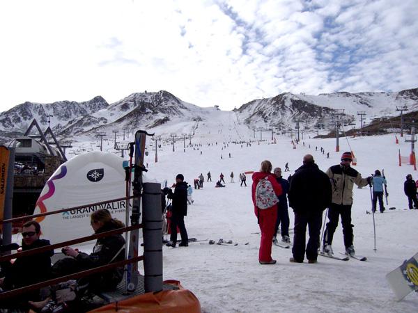 esquiar con niños grandvalira
