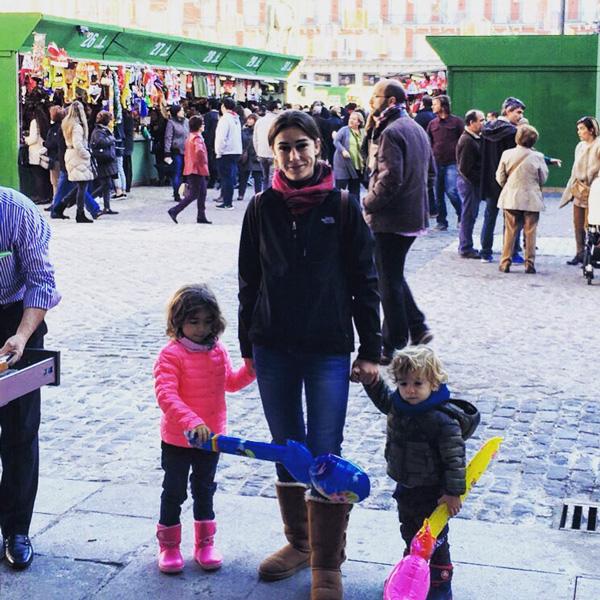 plaza-mayor madrid con niños