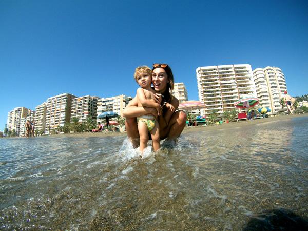 Malaga con niños malagueta