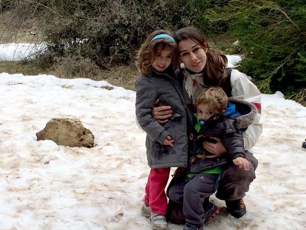casa rural con niños