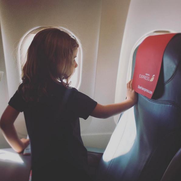 Canarias con niños avión
