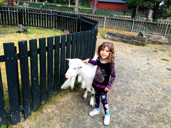 Suecia con niños parque Mariebergsskogen