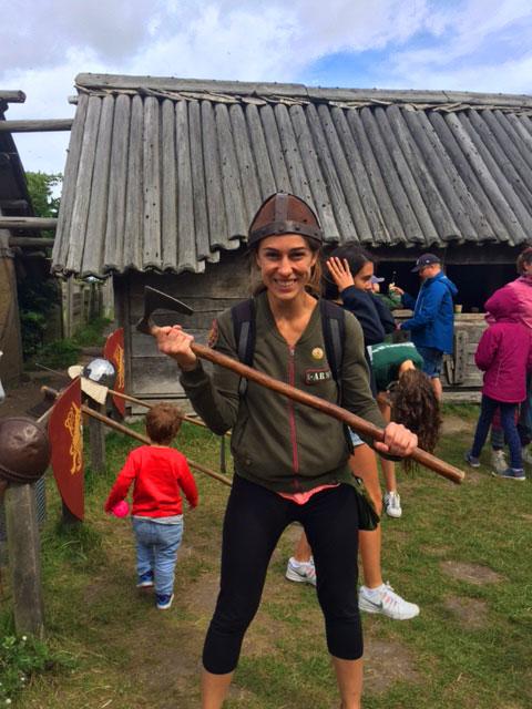 Suecia con niños foteviken museo vikingo