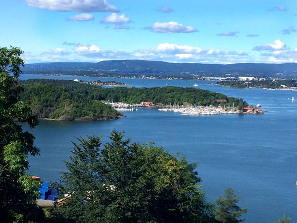 Oslo con niños vista panoramica