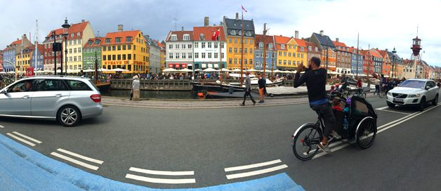 Copenhague sobre ruedas