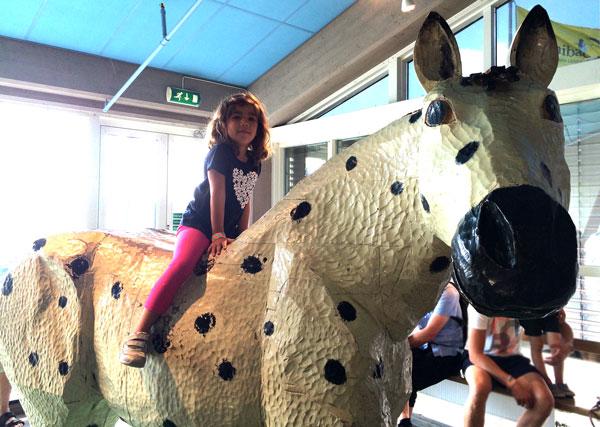 estocolmo con niños junibacken caballo pippi