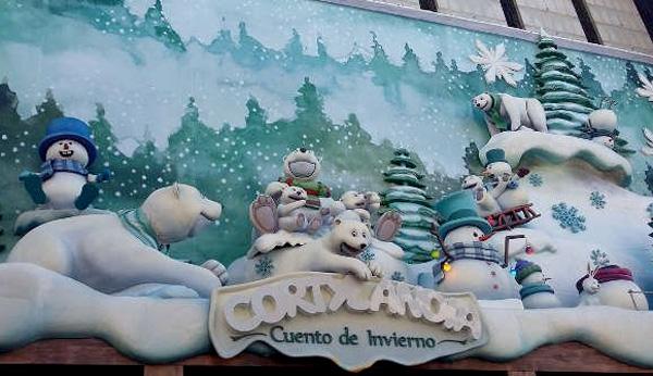 Navidad con niños en Madrid cortylandia