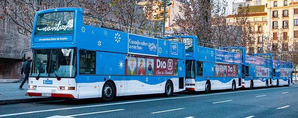Navidad en Madrid con niños navibus