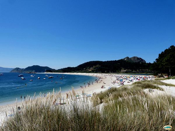 Islas Cies Galicia con niños