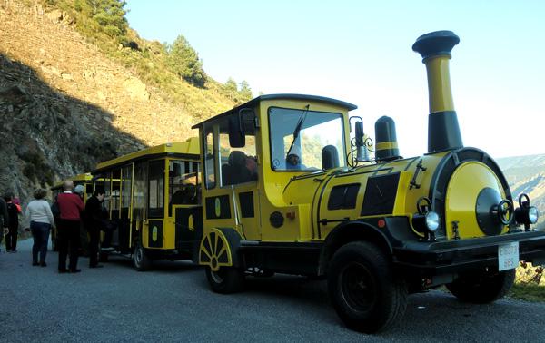 Tren Ribera Sacra Galicia con niños