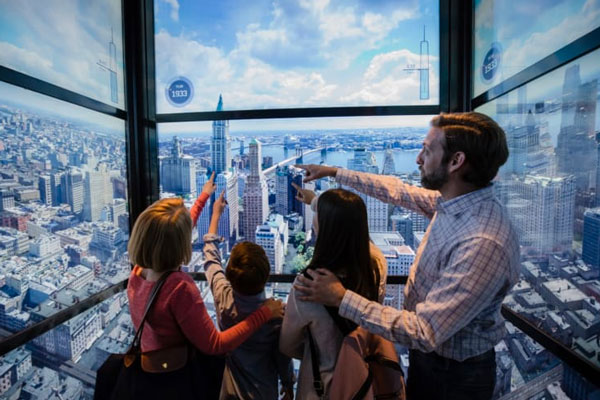 NY con niños one world observatory