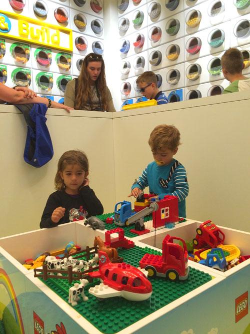 copenhague con niños lego