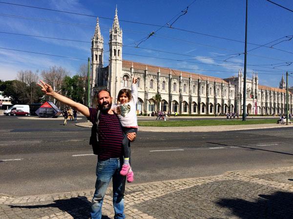 monasterio de los jeronimos Lisboa con niños