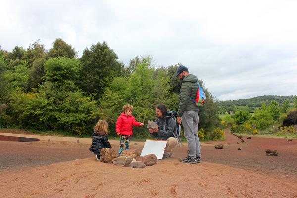 volcan croscat garrotxa con niños