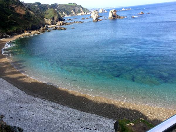playa del silencio asturias con niños