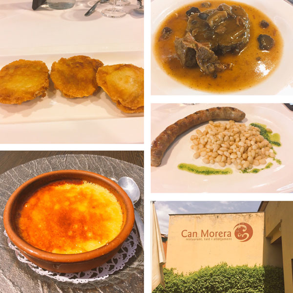 Can Morera comer en vall d'en Bas La Garrotxa