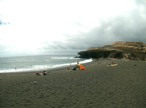 Fuerteventura con niños cueva ajuy