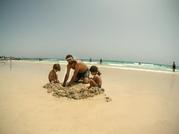 Fuerteventura con niños corralejo