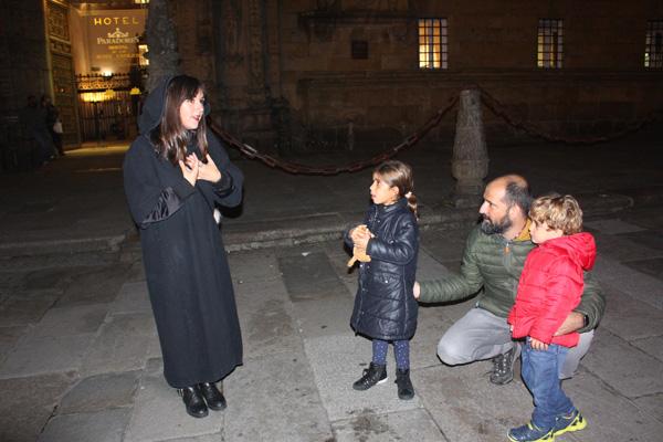 visita guiada santiago con niños
