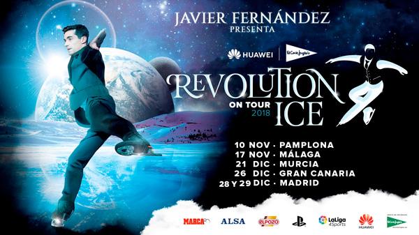 Revolution on ice Navidad en Madrid con niños