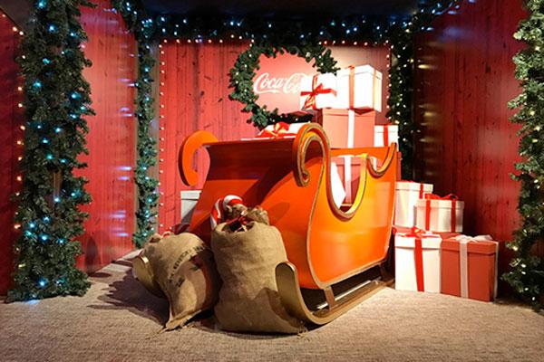 casa-de-la-navidad-coca-cola Navidad con niños en Madrid