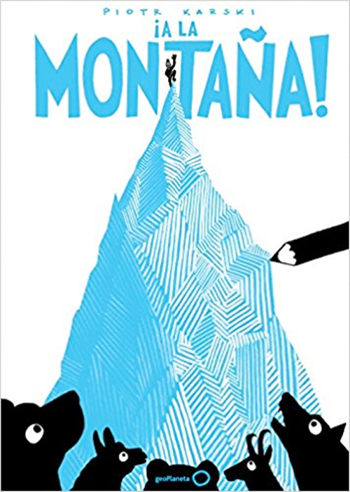 A-la-montaña libros para niños viajeros