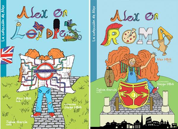 Alex-en Londres libros para niños viajeros
