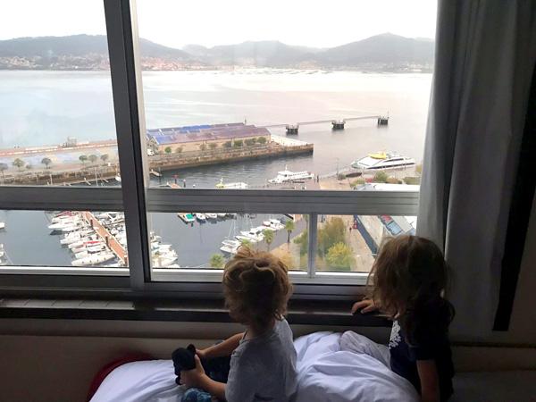 sercotel-bahia-de-vigo Galicia con niños