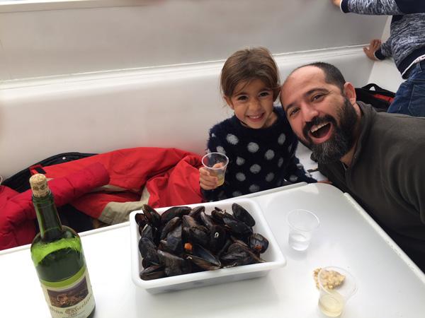 crucero ría arousa Galicia con niños Rias Baixas