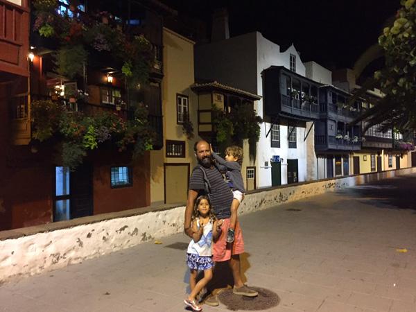 Santa Cruz de la Palma con niños