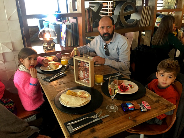 Brunch con niños madrid h10 Tribeca