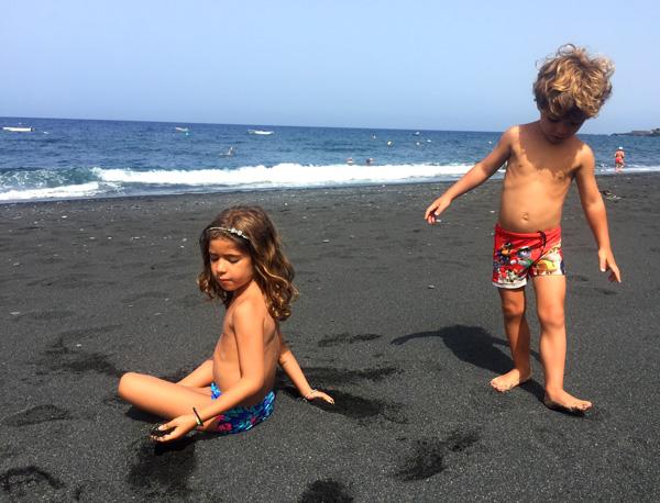 playa de Tazacorte La palma con niños