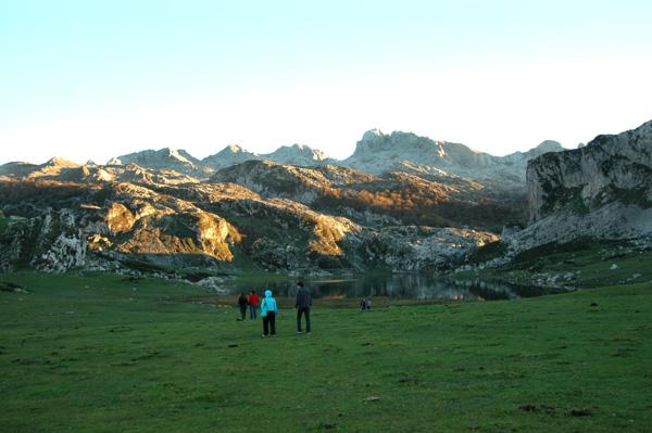 lagos covadonga asturias con niños