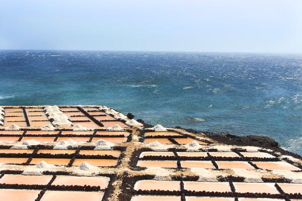 salinas de fuencaliente La Palma con niños