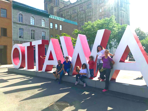 Ottawa canada con niños