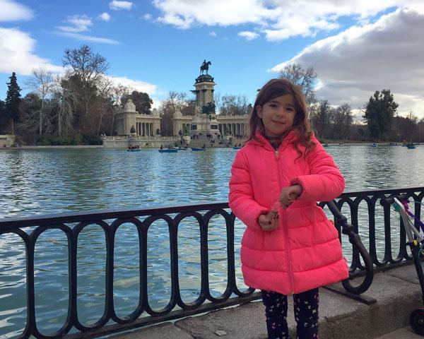 El Retiro madrid con niños