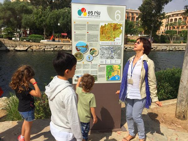 santa eulalia Ruta del rio Ibiza con niños