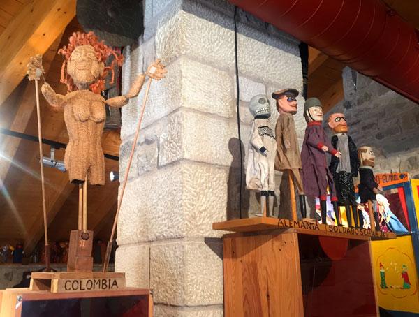 casa de los titeres Huesca con niños