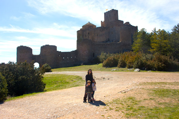 castillo de loarre Huesca con niños