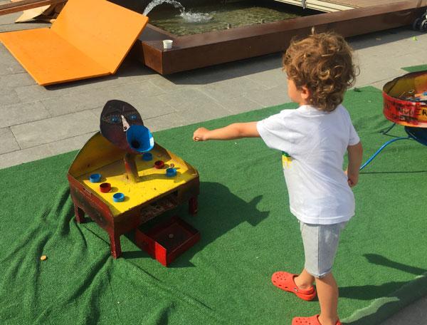 juegos intantiles Festival Barruguet Santa Eulalia