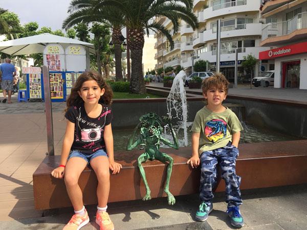 santa eulalia fameliar Ibiza con niños