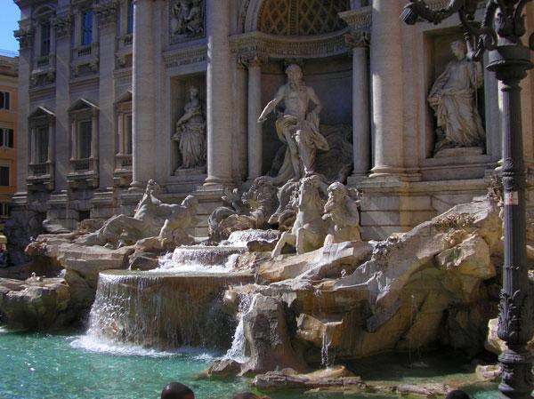fontana-di-trevi Roma con niños